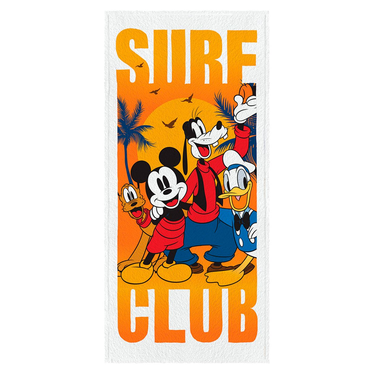 Toalha de Banho Felpuda infantil Mickey Mod 1