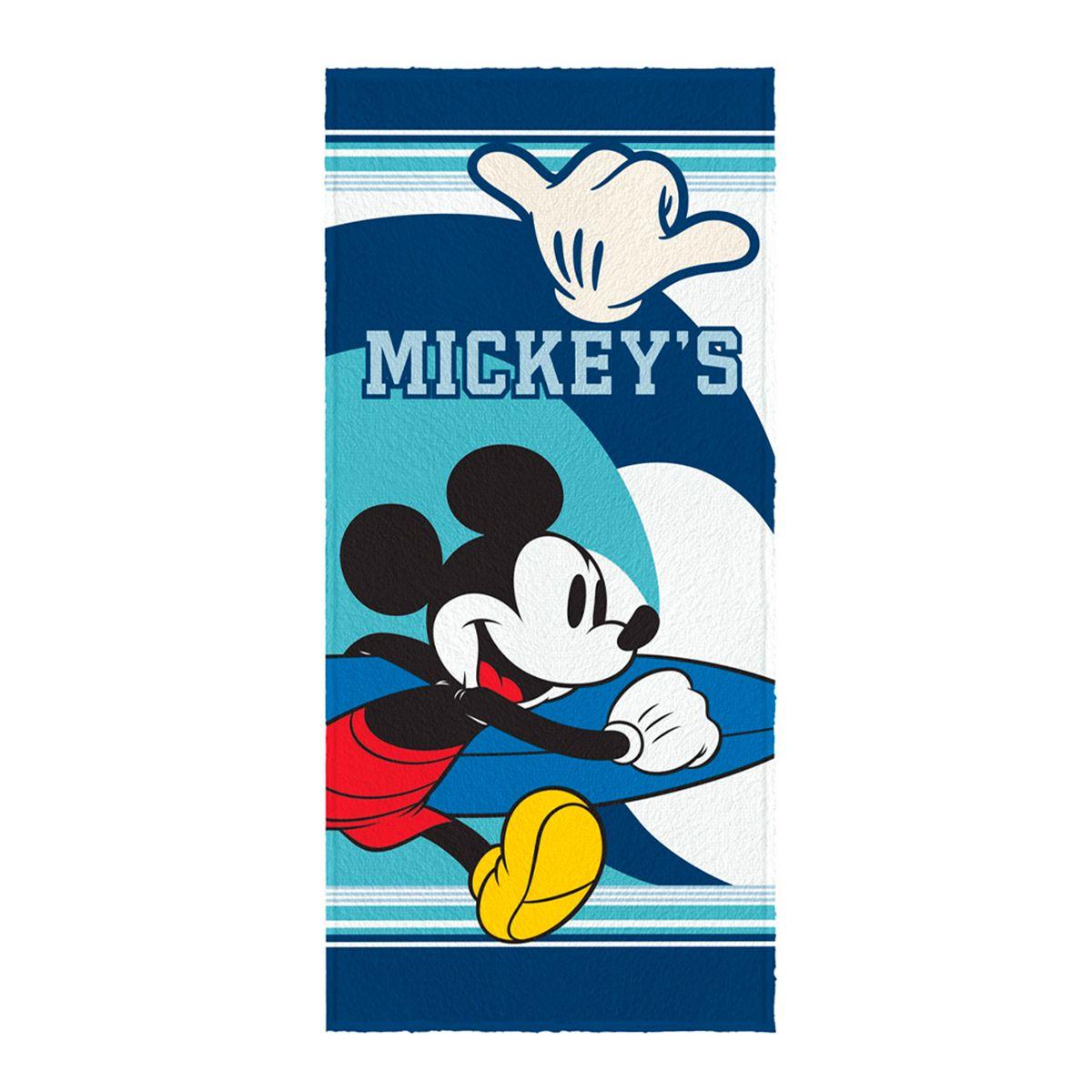 Toalha de Banho Felpuda infantil Mickey Mod 4