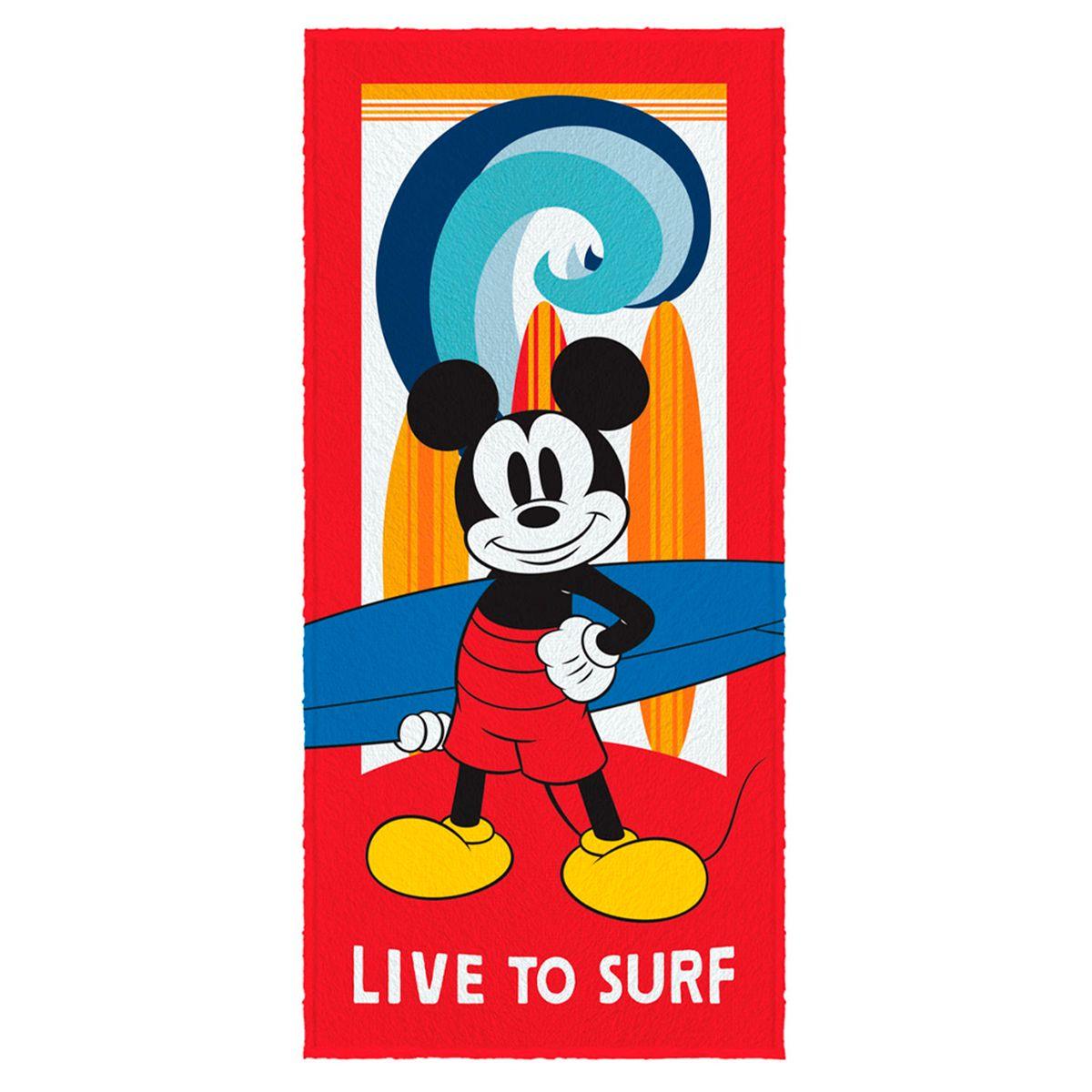 Toalha de Banho Felpuda infantil Mickey Mod 5