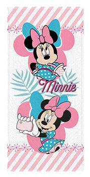Toalha de Banho Felpuda infantil Minnie Mod 1