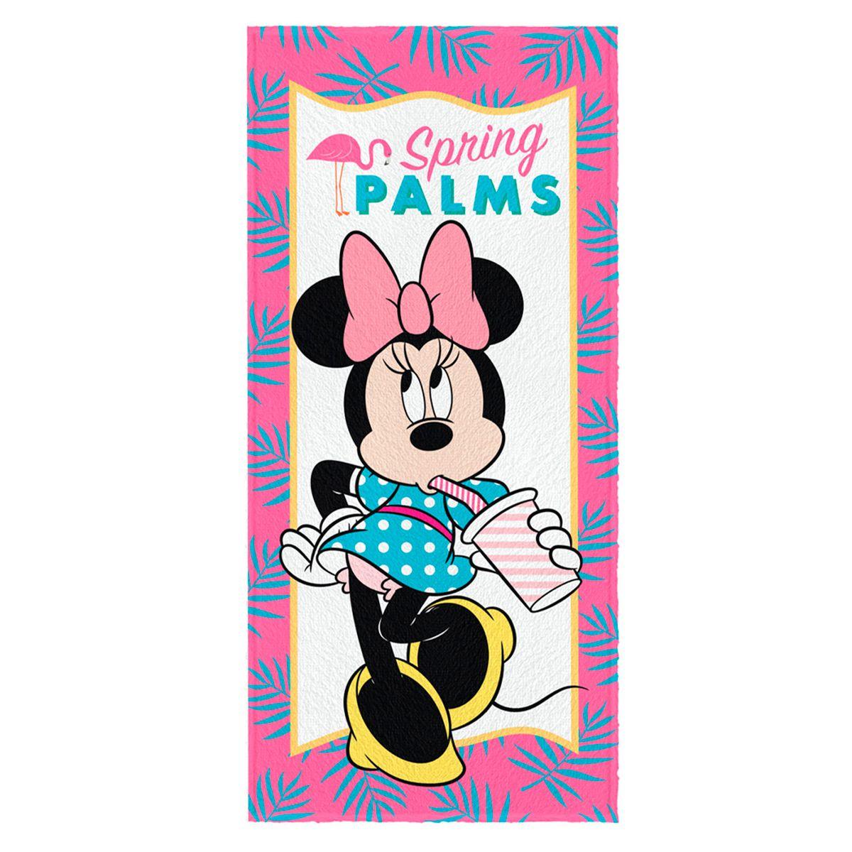 Toalha de Banho Felpuda infantil Minnie Mod 4
