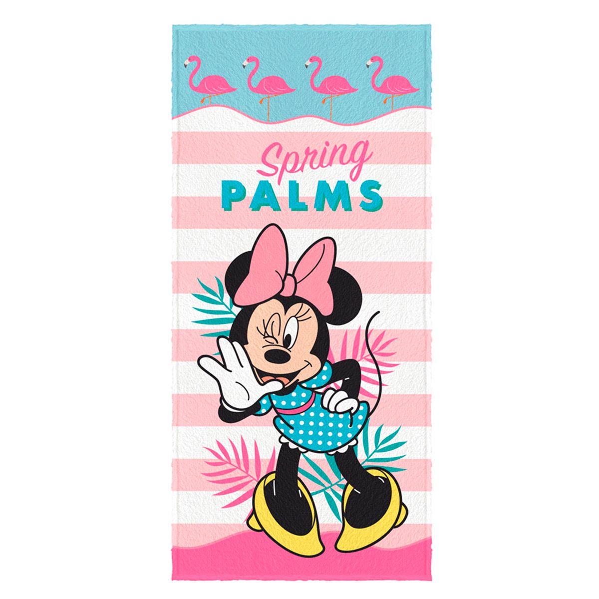 Toalha de Banho Felpuda infantil Minnie Mod 5