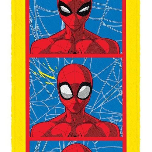 Toalha de Banho Felpuda Spider Man Lepper Mod 1