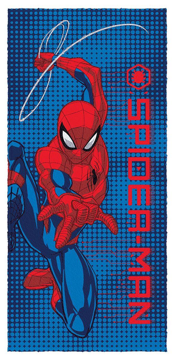 Toalha de Banho Felpuda Spider Man Lepper Mod 8