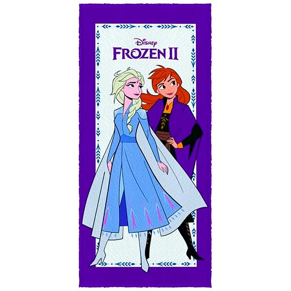 Toalha De Banho Infantil Frozen 2 Mod 2 Felpuda-Lepper