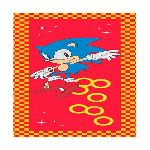 Toalha Felpuda Sonic Lepper Mod 3