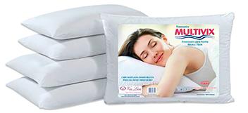 Travesseiro Multivix Matelado 50x70cm