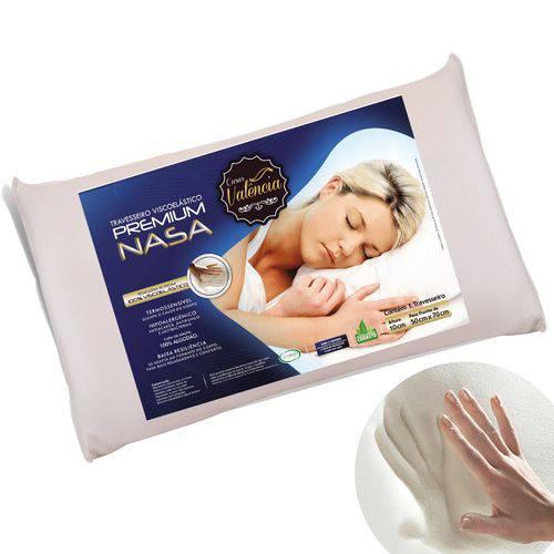 Travesseiro Nasa Kit 2 Pecas - Antialergico - Toque Macio - Valencia
