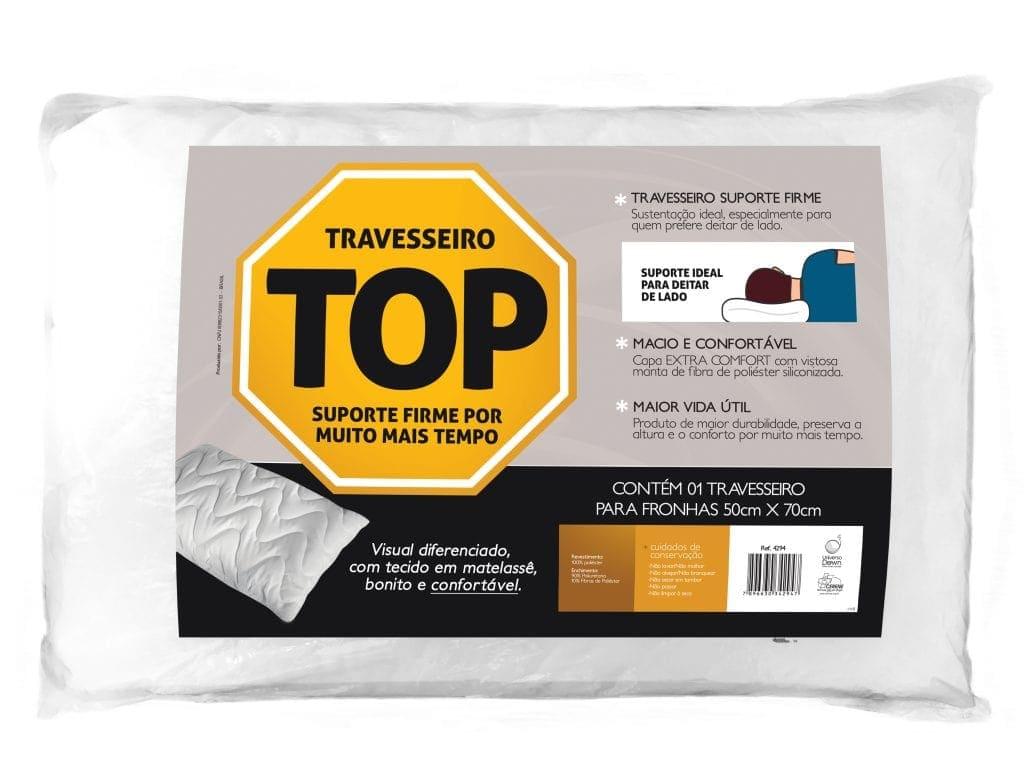 Travesseiro TOP Flocos de Espuma Para Fronhas 50x70