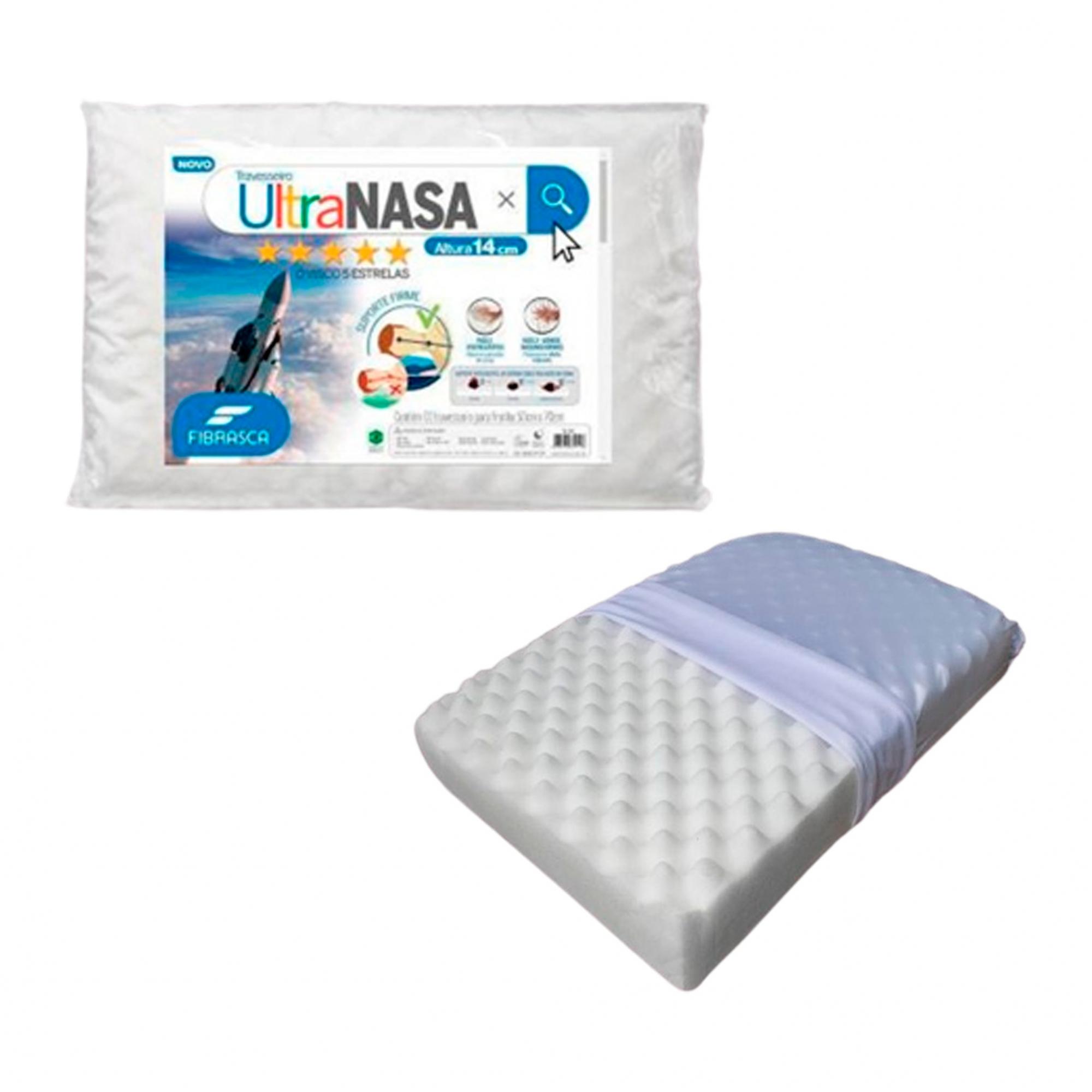 Travesseiro Ultra Nasa - Para Fronha 50x70