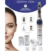 Caneta Elétrica de Microagulhamento - Smart Derma Pen