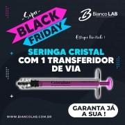 Seringa De Cristal (policarbonato) Desc. 01ml Luer Lock 25un