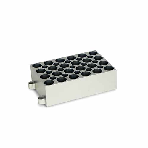 BLOCO PARA 24 TUBOS DE 5,0 ML.COMPATÍVEL COM K80-100 E K80-200.