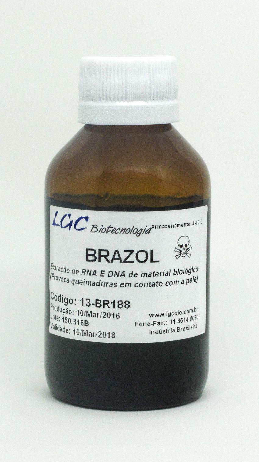 BRAZOL - REAGENTE A BASE DE FENOL PARA EXTRAÇÃO DE DNA