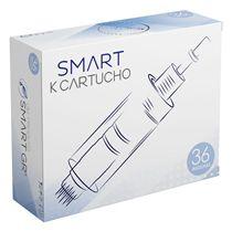 Cartucho Derma Pen Preto - Kit - com 10 unidades - 36 agulhas