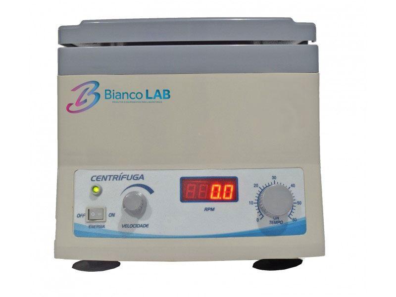 CENTRÍFUGA MICROPROCESSADA PARA PRP E L-PRF - 4000RPM - 12X15ML