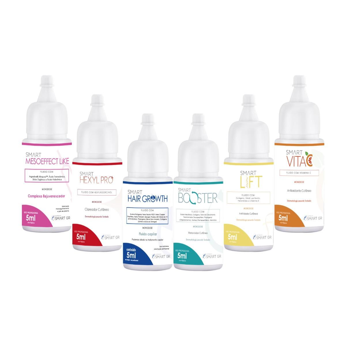 Kit Degustação Ativos em Monodose para Microagulhamento