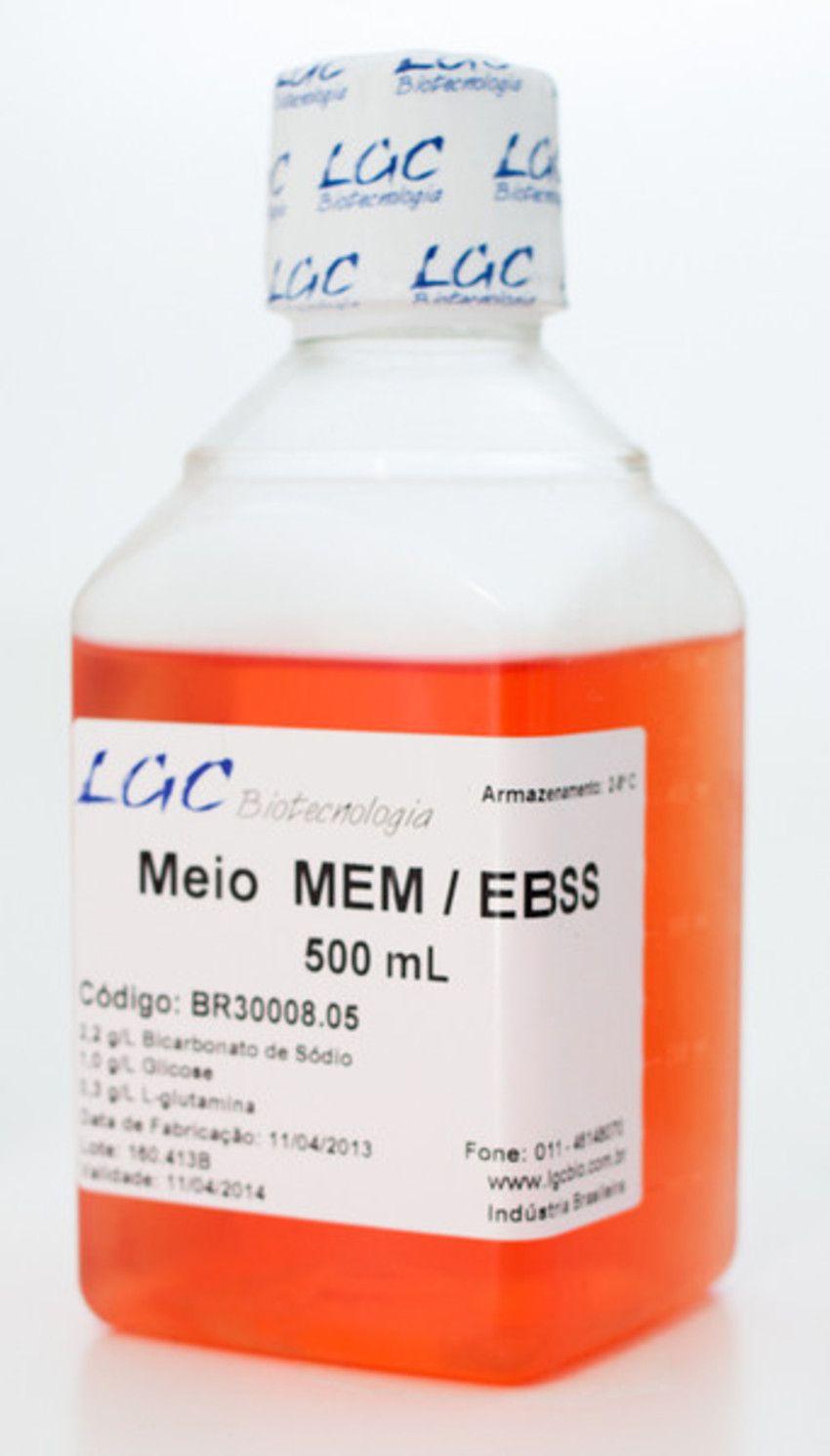 MEM/EBSS, COM L-GLUTAMINA