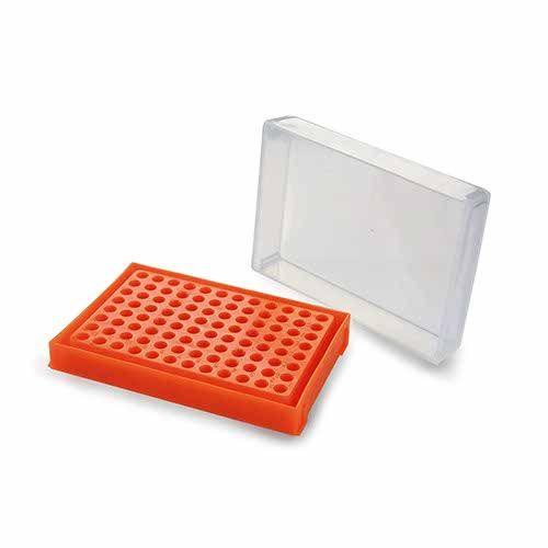 RACK PARA PCR. 96 POÇOS. CORES SORTIDAS