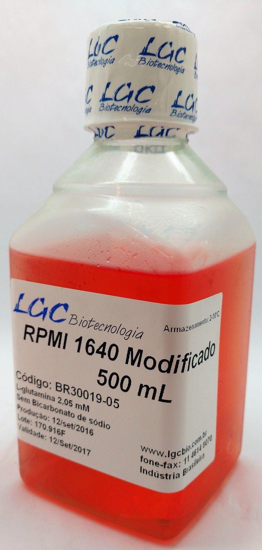 RPMI-1640 COM L-GLUTAMINA E SEM BICARBONATO DE SÓDIO