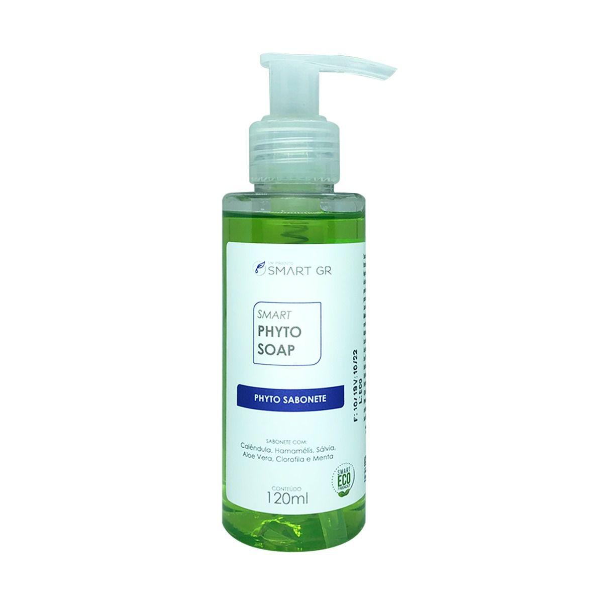 SMART PHYTO SOAP - SABONETE DE BIOVEGETAIS FITODETERGENTES - 120ML