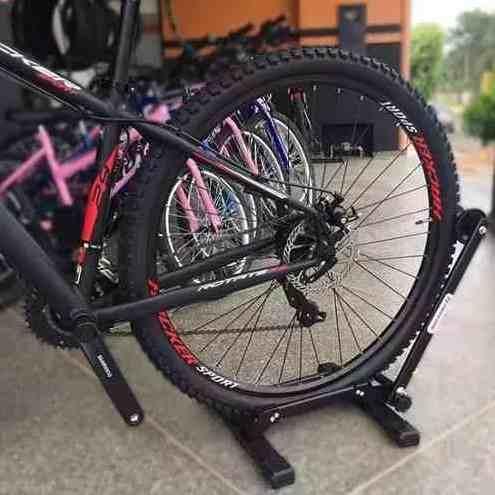 Suporte para Bicicleta de Chão Expositor Retrátil Aço High One
