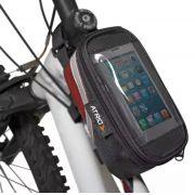 Bolsa de Quadro Ciclismo Porta Celular Atrio