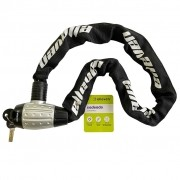 Cadeado Bike Moto Corrente 8mm X 90cm Elleven
