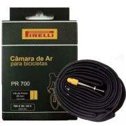 Câmara de Ar Pirelli 700x28/45 Bico Fino 48mm Presta