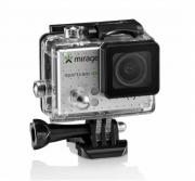 Câmera De Ação Mirage 4k com wi-fi e Cartão de memória 16Gb