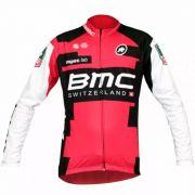 Camisa Ciclismo Bmc Manga Longa World Tour Mtb/speed