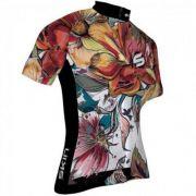Camisa Feminina Skin Vênus com Flores