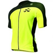 Camisas De Ciclismo Racing Bike Amarelo/preto Barbedo