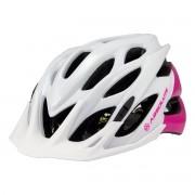 Capacete Ciclismo Mia Branco/Rosa Absolute Bike