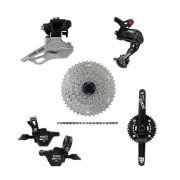 Conjunto Kit Transmissão para Bicicleta 20v 42d Nxr Xtime