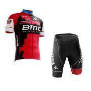 Conjunto Roupa de Ciclismo Masculina World Tour BMC