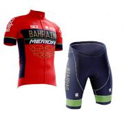 Conjunto Roupa de Ciclismo Masculina World Tour Merida
