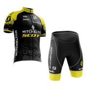 Conjunto Roupa de Ciclismo Masculina World Tour Scott