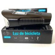 Farol Com Buzina Ciclismo H1714 E Velocimetro