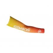 Manguito Ciclismo Bike Solifes Laranja/amarelo Proteção Uv