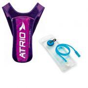 Mochila de Hidratação Bike Atrio 1,5 Litros rosa/roxo