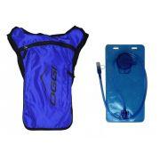 Mochila de Hidratação Bike Camelbak Oggi Hacker Race 2 Litros Azul