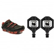 Sapatilha Absolute Wild Ciclismo Com Pedal Crankbrothers Clip Candy