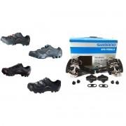 Sapatilha Ciclismo New Fit Tsw Com Pedal Clip Shimano M505
