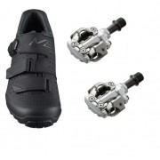 Sapatilha Ciclismo Shimano M301 Com Pedal M540