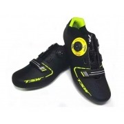 Sapatilha Speed Ciclismo Smart Tsw Preto/ Neon