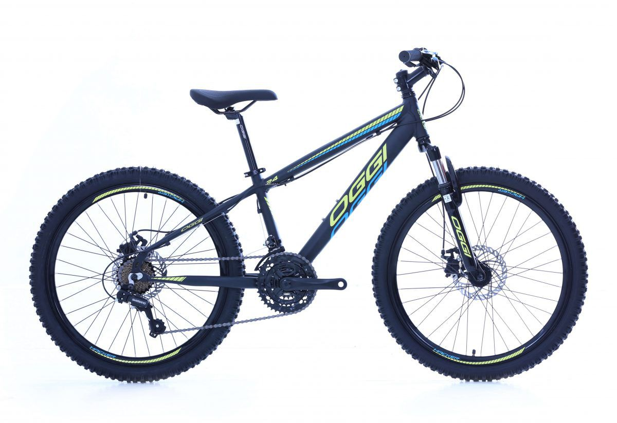 Bicicleta Aro 24 Oggi Hacker 21v Shimano