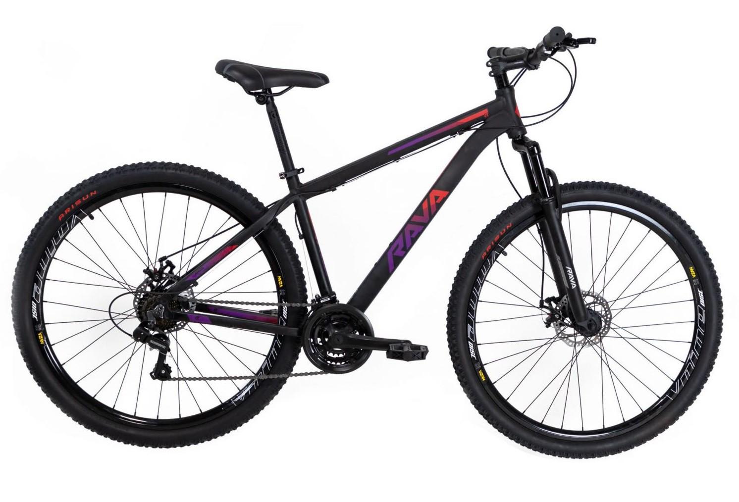 Bicicleta aro 29 Alumínio Rava Pressure  21 velocidades