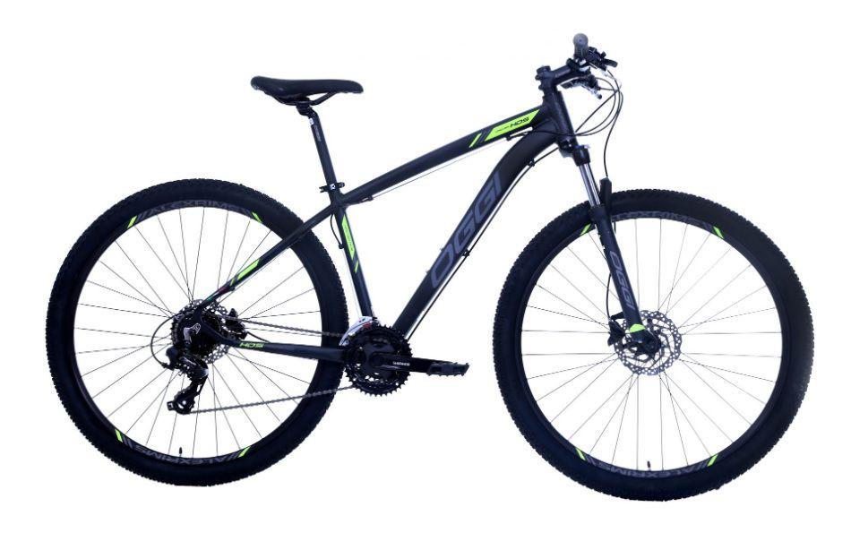 Bicicleta aro 29 Oggi Hacker HDS 24 Velocidades freio hidráulico 2019