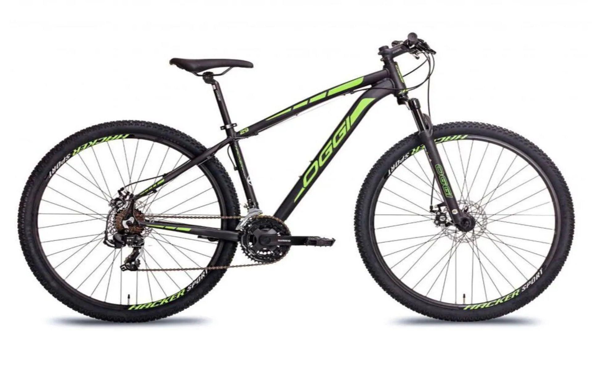 Bicicleta Aro 29 Oggi Hacker Sport 2019 21 velocidades